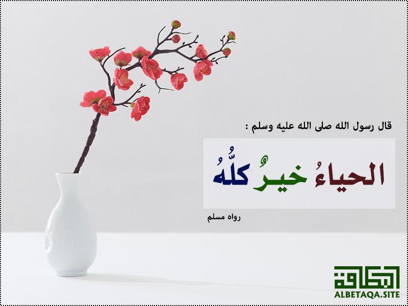 الحياء خير كله