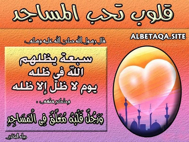 قلوب تحب المساجد